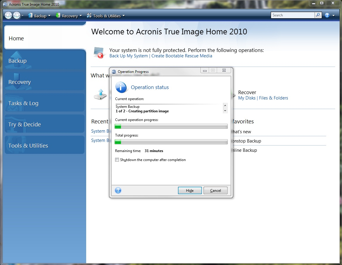 Buy Cheap Acronis True Image Home 2010