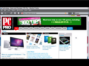 Anroid netbook Firefox Browser
