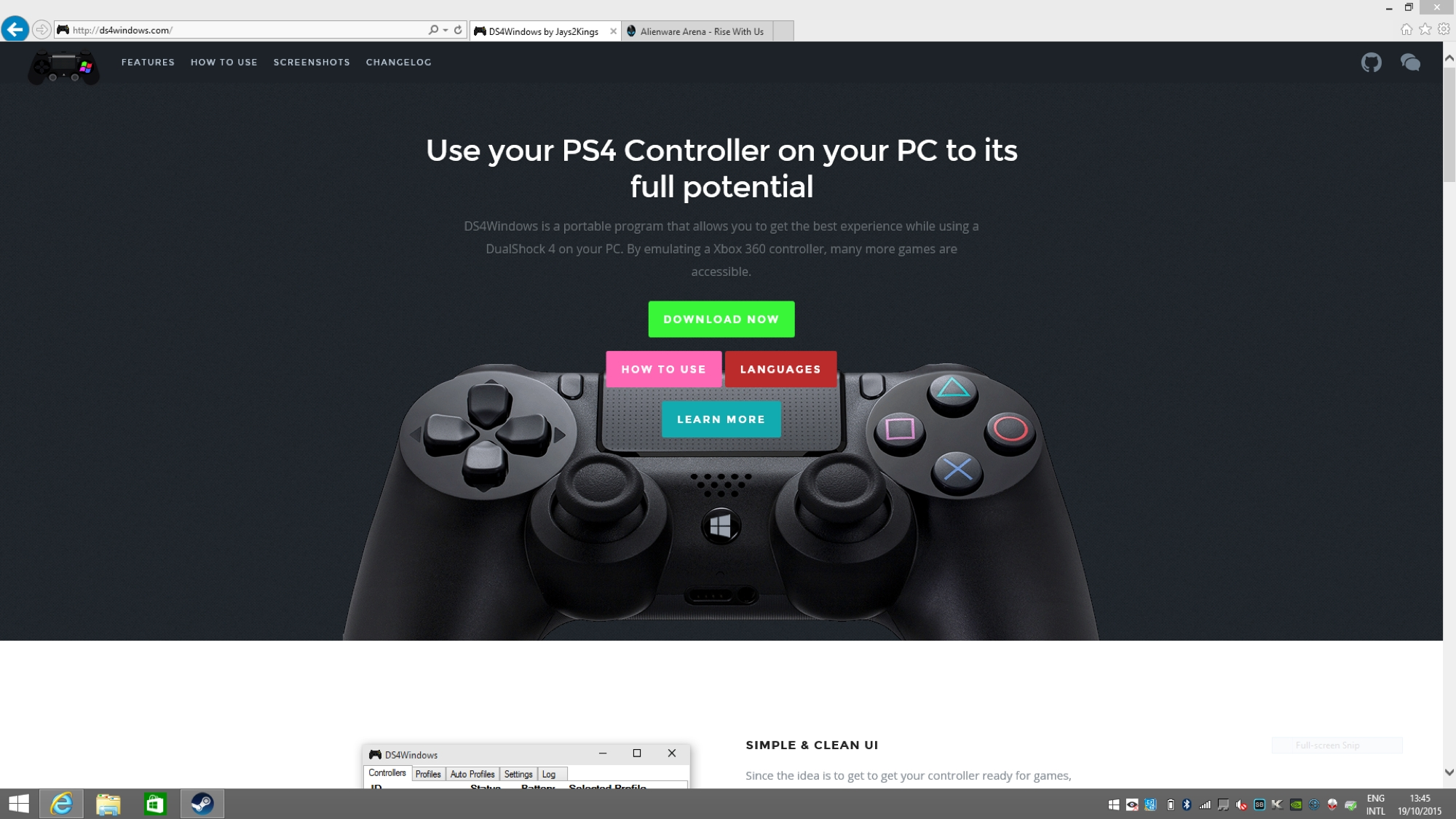 How To Use A Ps4 Dualshock Controller With A Pc