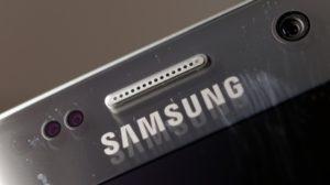 Samsung Galaxy S7 review: Samsung logo