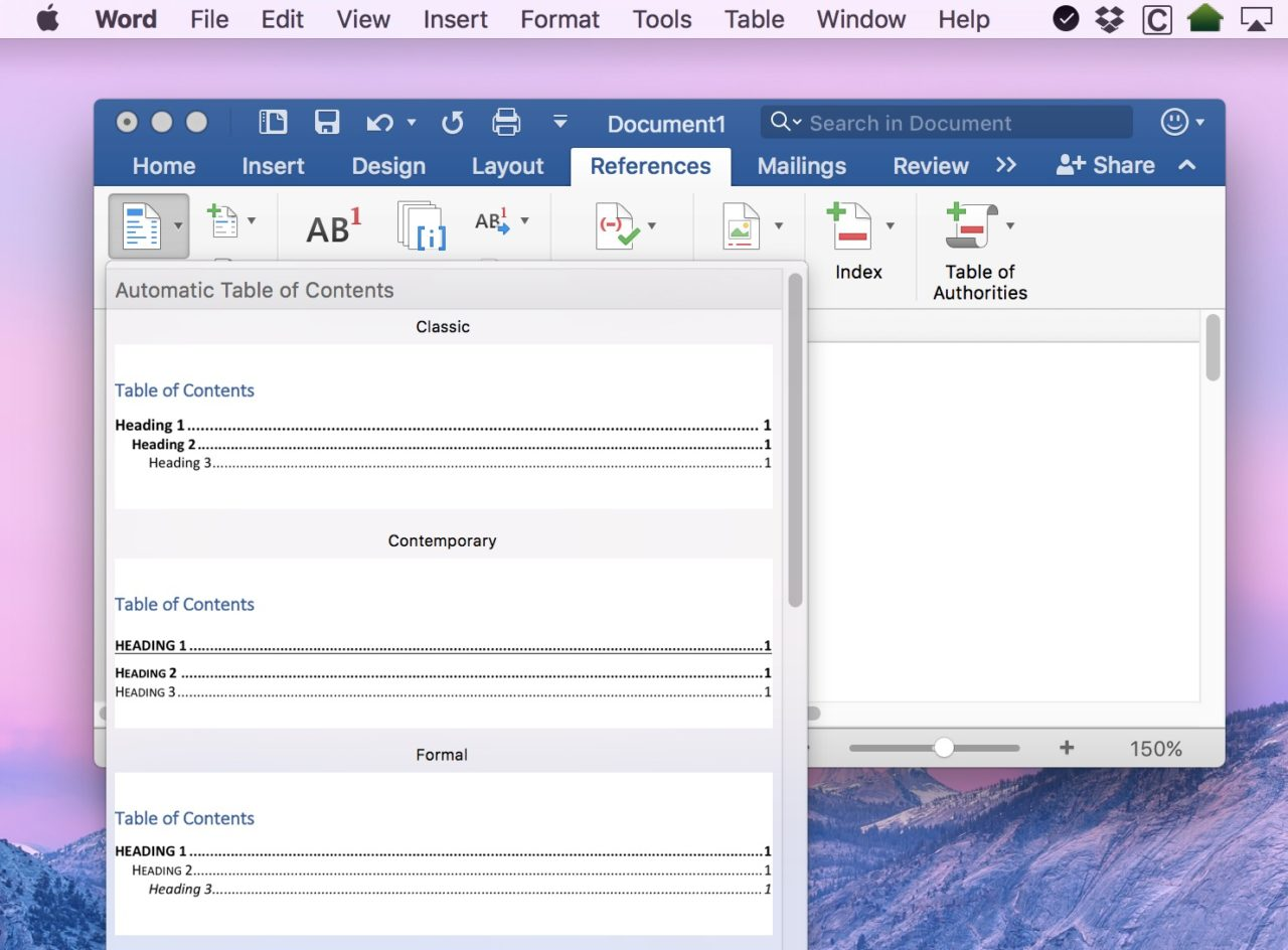 How To Add Page Numbers In Word For Mac 2016 =LINK= ToC