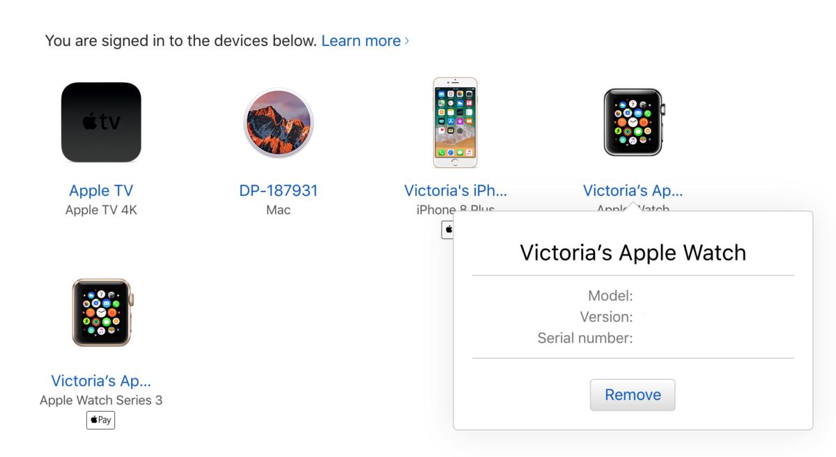 Delete Apple ID