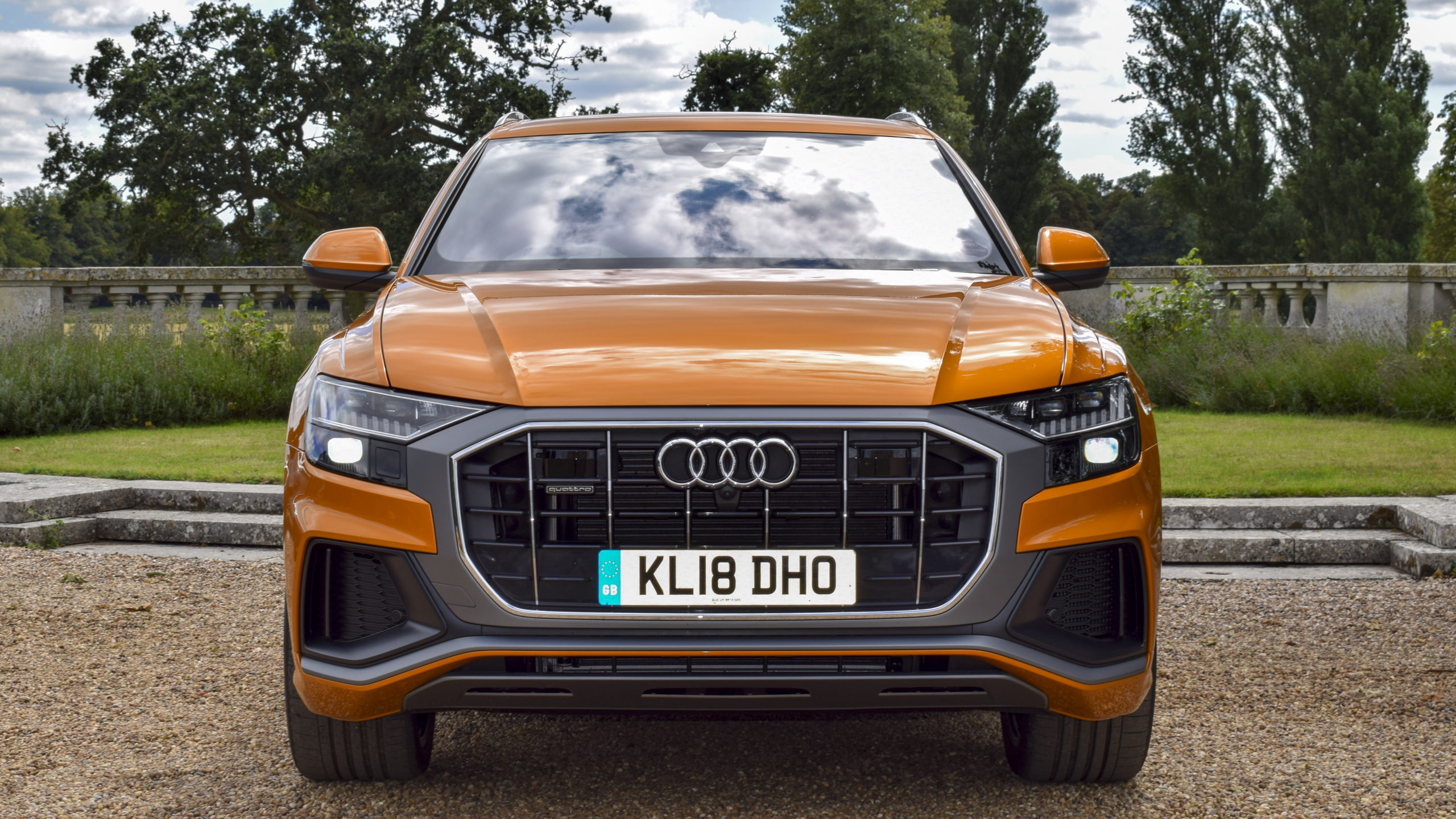 New Audi Q8 2018 Suv Uk Price And Review We Take Audi S Tech Filled Flagship Suv For A Drive