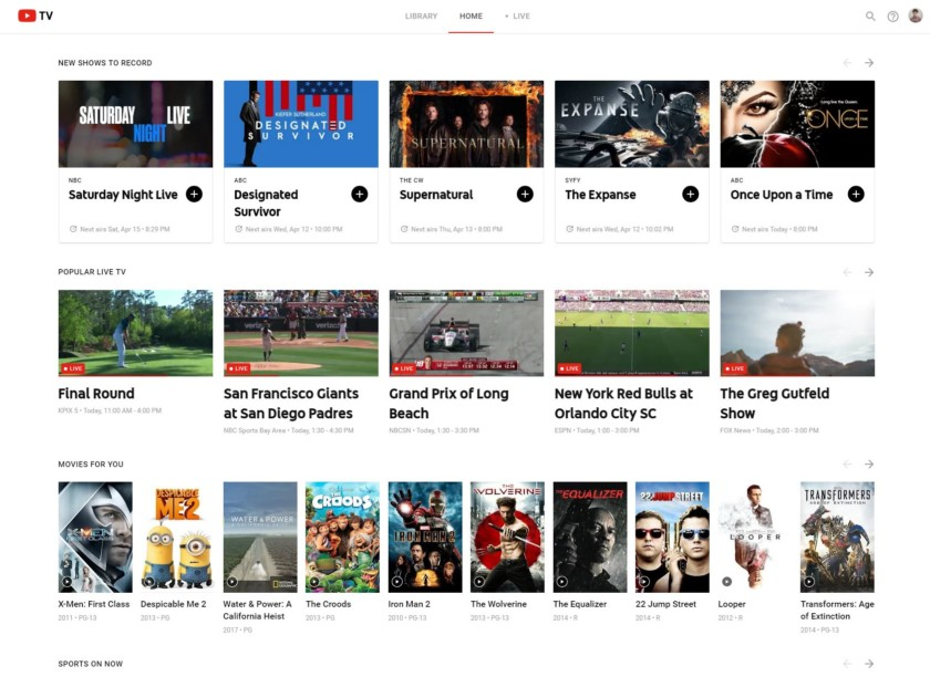Youtube Tv A Complete Review December 2020