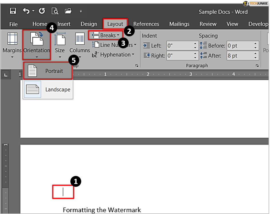 How To Make Only One Page Landscape In Microsoft Word