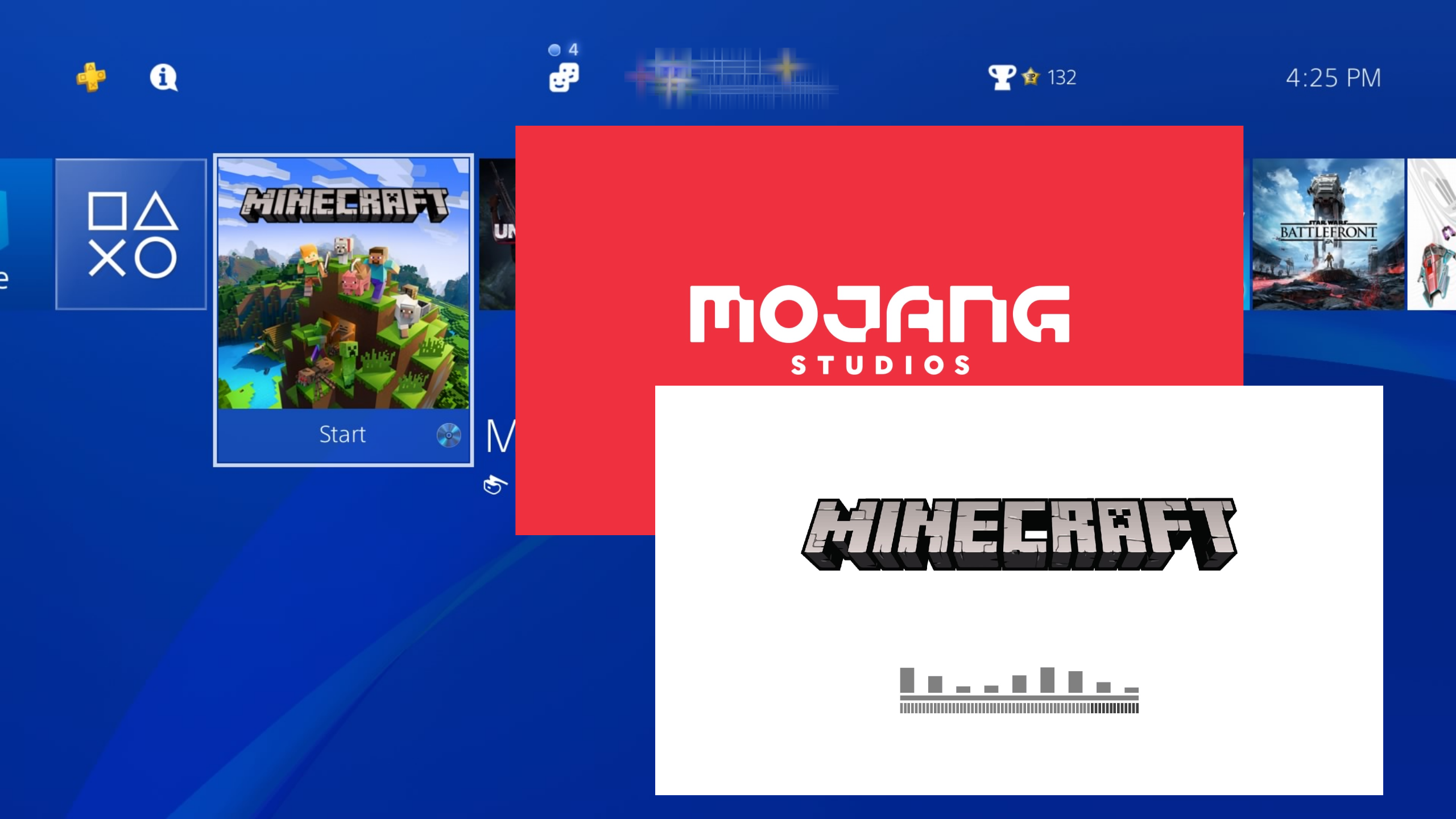 Minecraft PS4 Not Loading