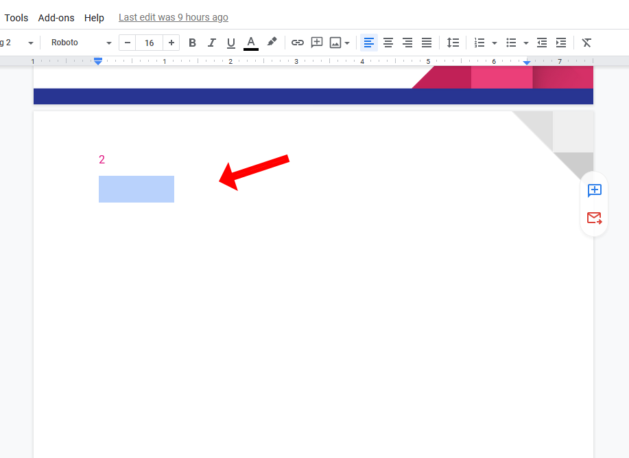 How To Delete A Blank Page In Google Docs The official google drive application. alphr