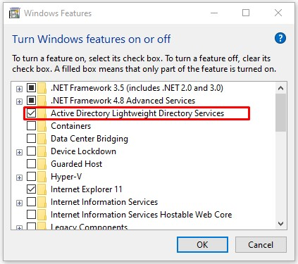 Cách Bật RSAT Cho Active Directory Trong Windows 10 - VERA STAR