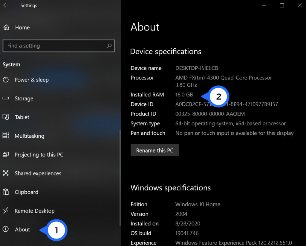 How to Find Your RAM Speed, Type, and Size on Windows 10 and macOS