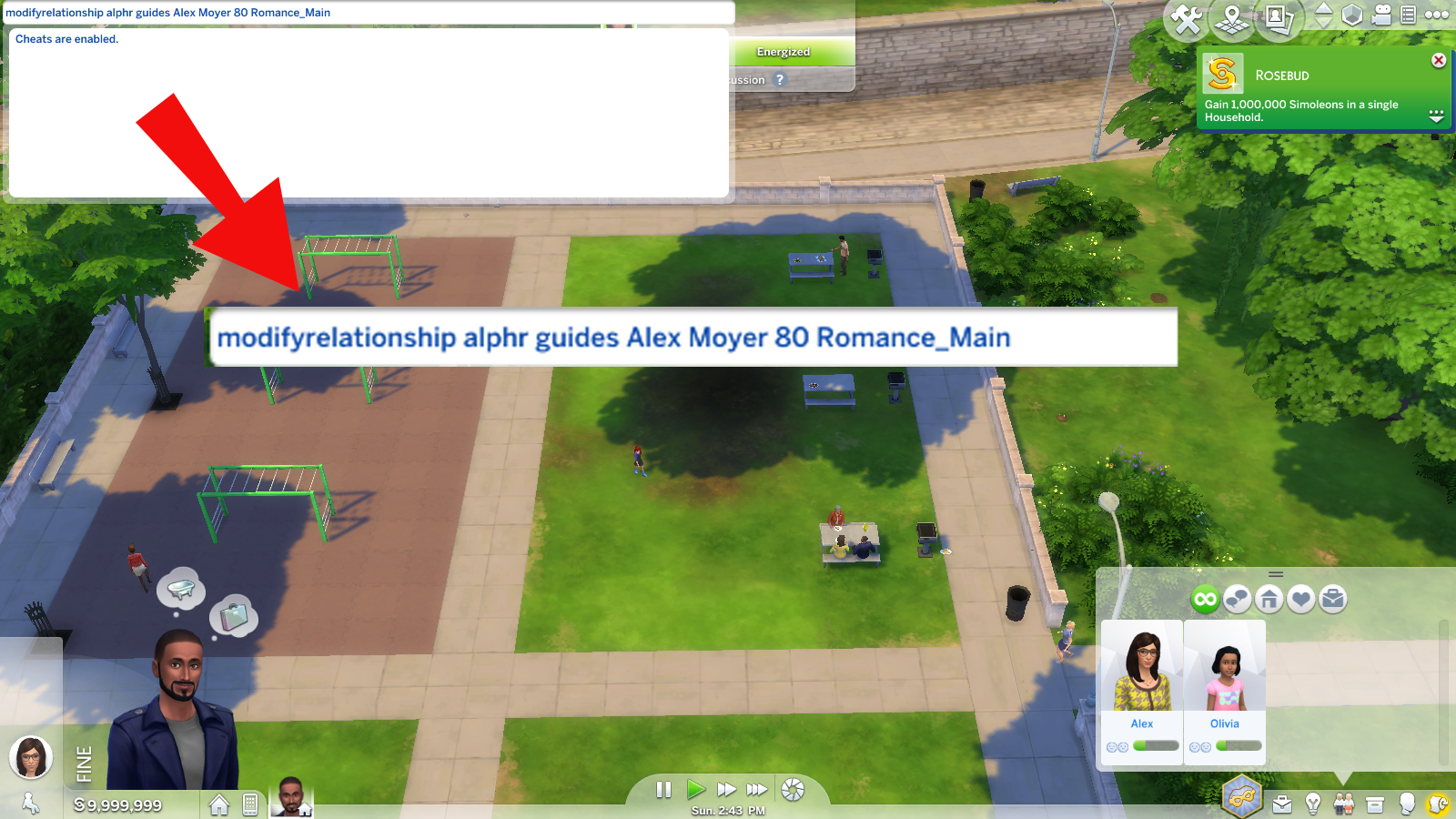 Relationships sims modify 4 cheat Sims 4