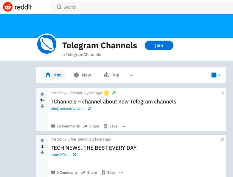 How To Find Channels On Telegram