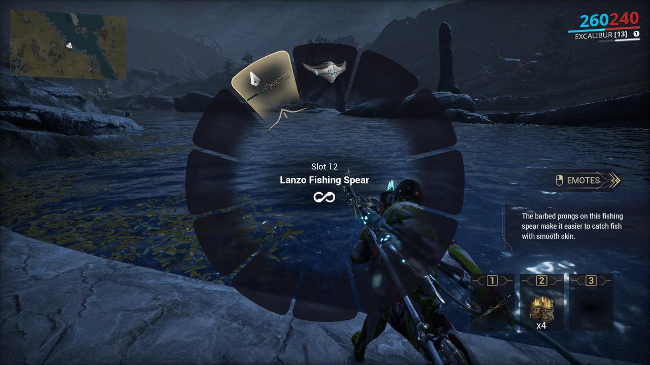 Warframe where to fish