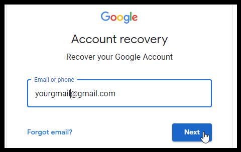 Forgot password gmail login www How to