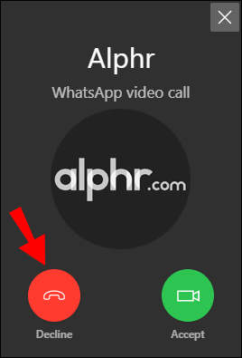 How To Make A Whatsapp Video Call In Windows 10